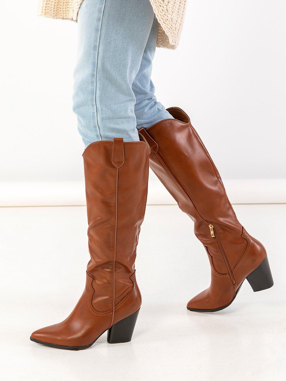 Basic western μπότες με τακούνι - Ταμπά