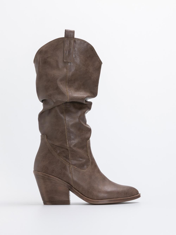 Estil western μπότες 3/4 - Πούρο
