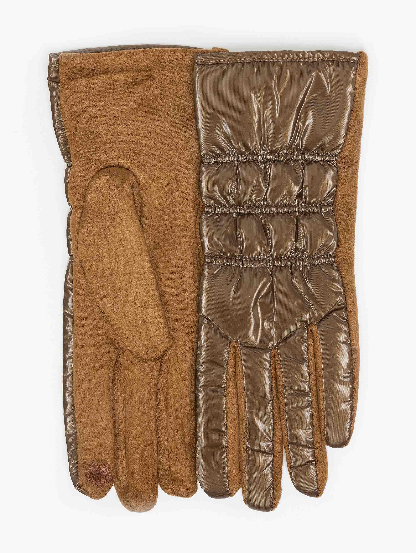 Γάντια καπιτονέ από ανακλαστικό ύφασμα - Ταμπά