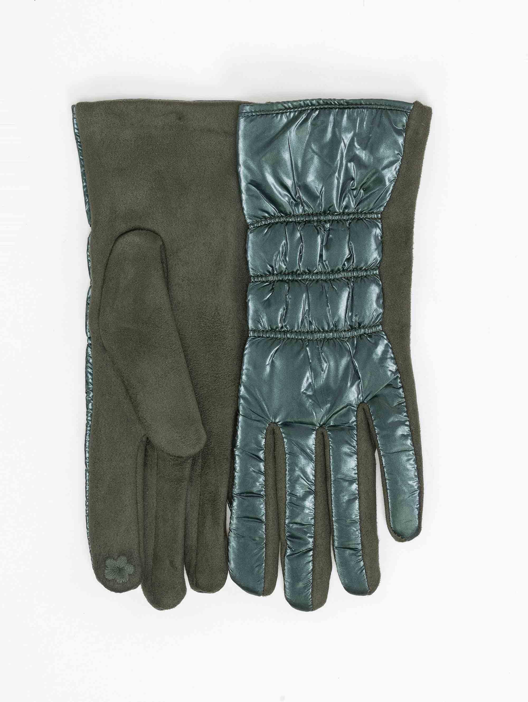 Γάντια καπιτονέ από ανακλαστικό ύφασμα - Κυπαρισσί