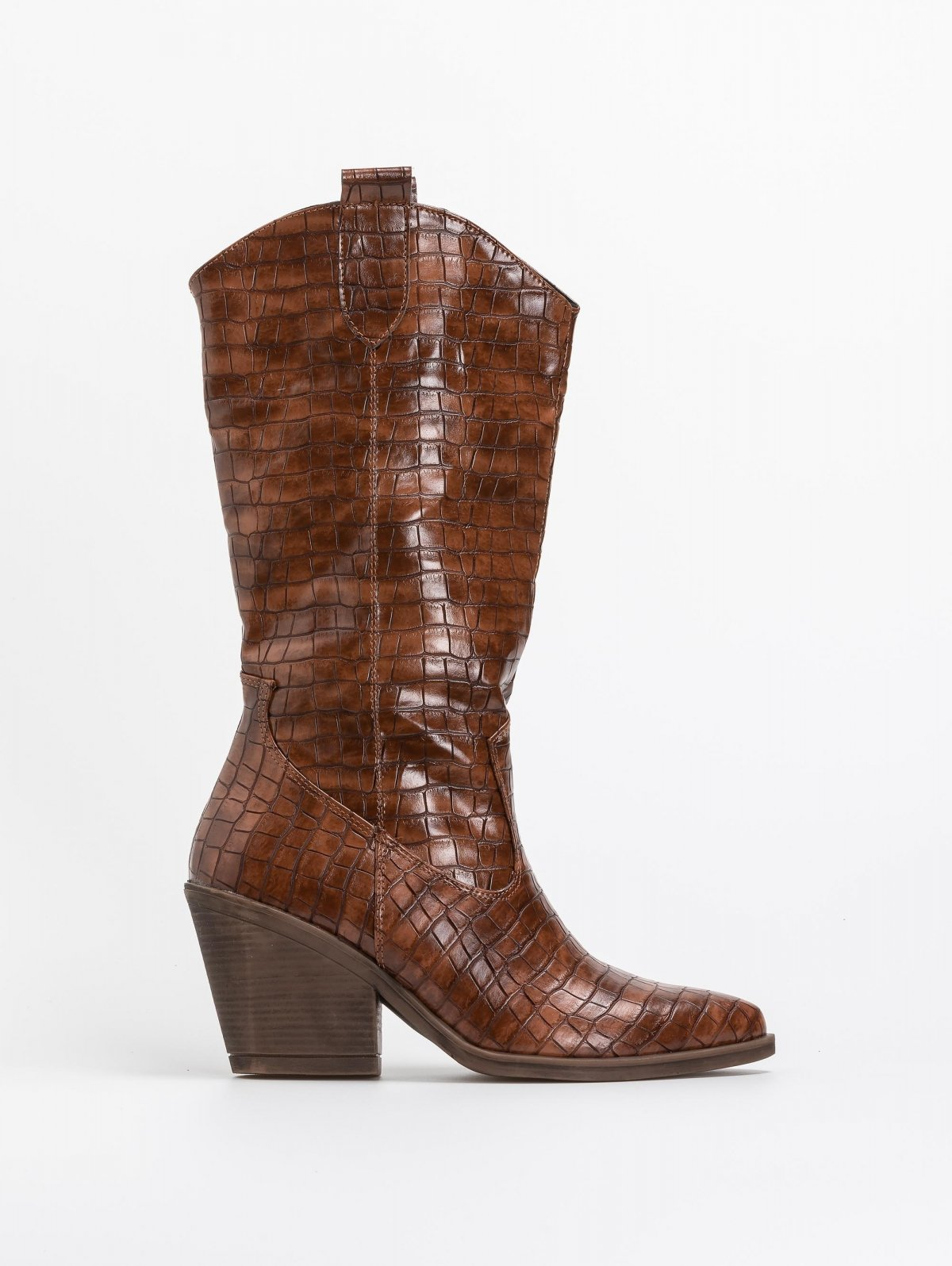 Κροκό καουμπόικες μπότες - Ταμπά