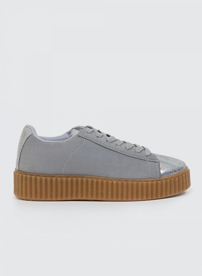 CREEPER SUEDE SNEAKERS QQ-132