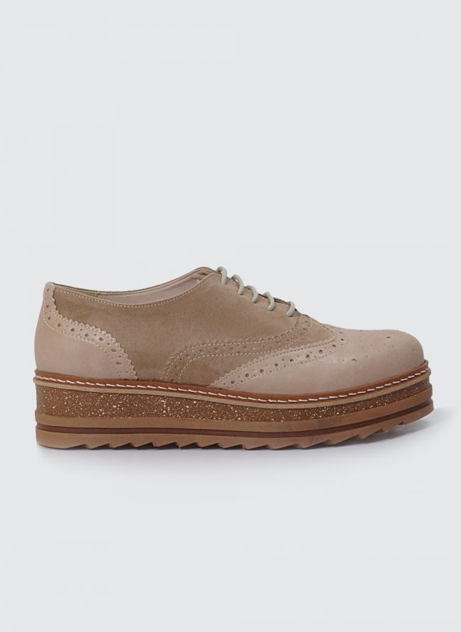 ESTIL FLATFORM OXFORDS SJ-37SM