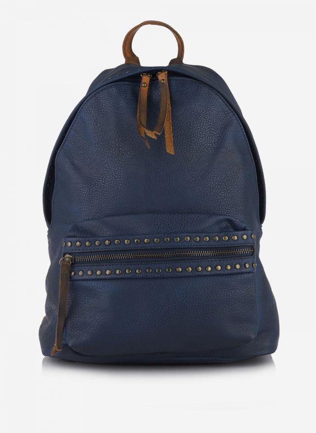 Backpack με τρούκς - Μπλε σκούρο