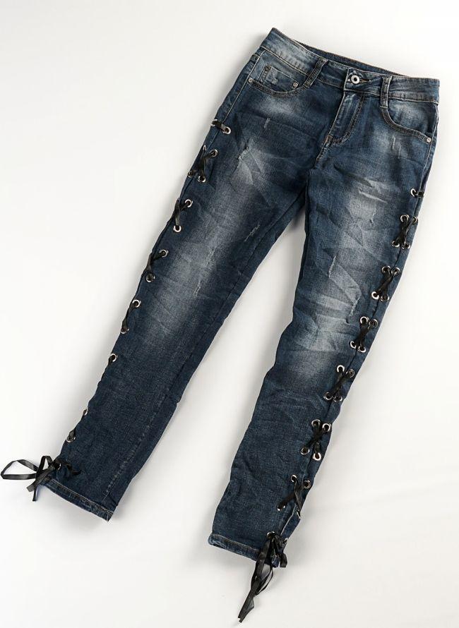 SKINNY FIT JEANS - Μπλε jean