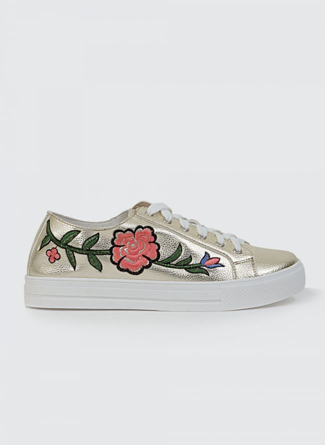 FLORAL SNEAKERS JH-2132