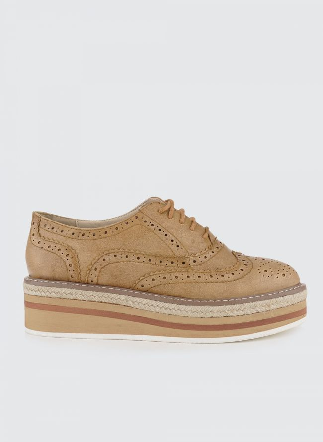 ESTIL FLATFORM OXFORDS 88/01 - Ταμπά