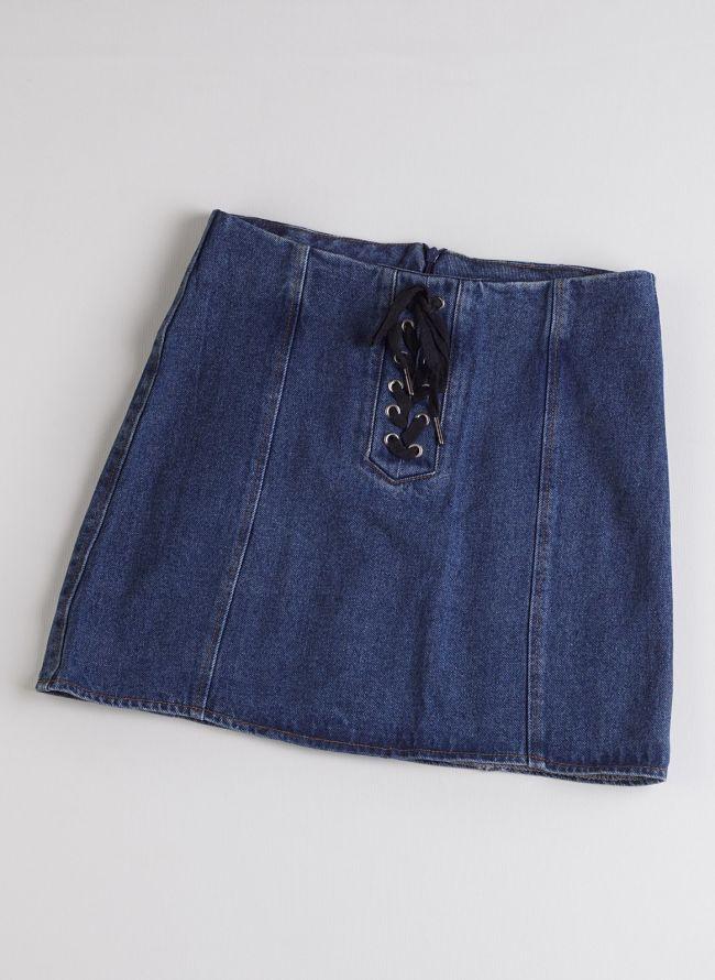 Τζιν φούστα - Μπλε jean