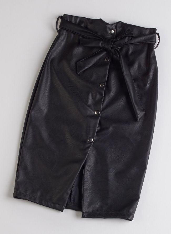Pencil φούστα - Μαύρο