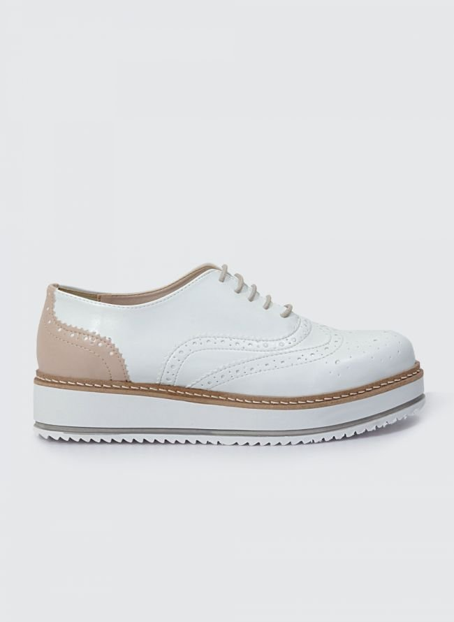 ESTIL FLATFORM OXFORDS SJ-33MD