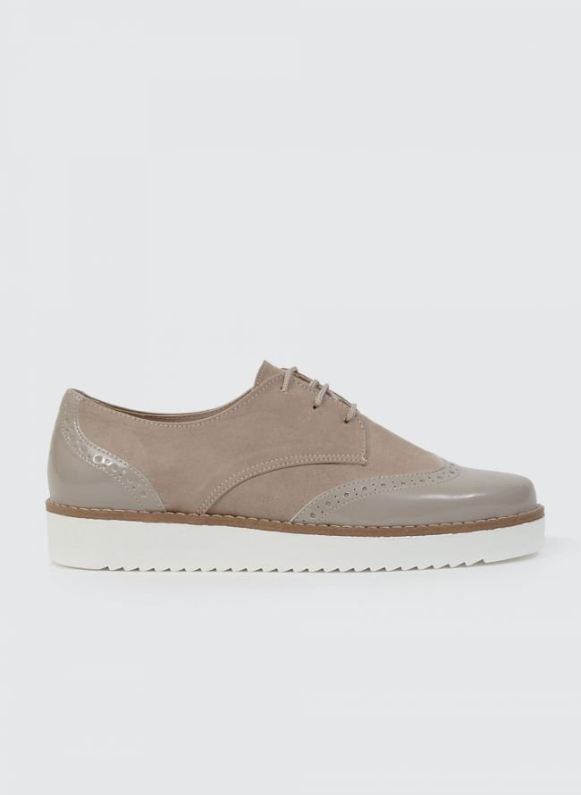 ESTIL FLATFORM OXFORDS SF40 - Πούρο