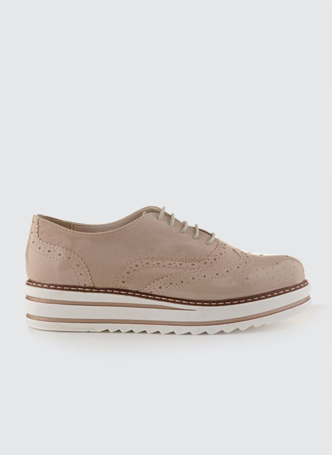 ESTIL FLATFORM OXFORDS SJ-38SL