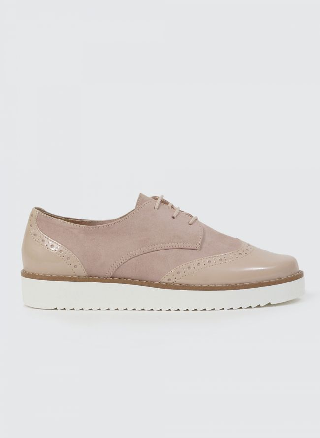 ESTIL FLATFORM OXFORDS SF40