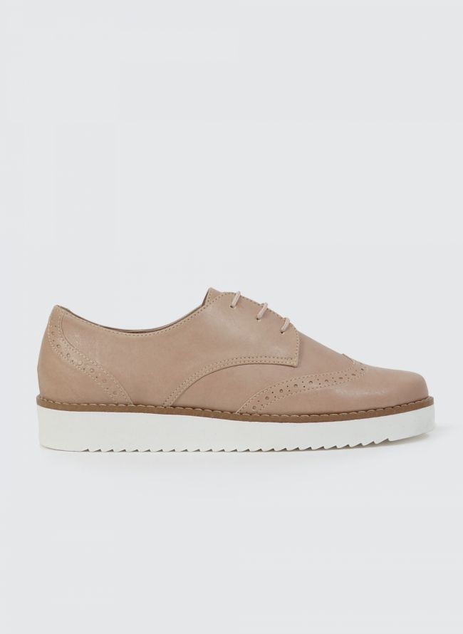 ESTIL FLATFORM OXFORDS D40