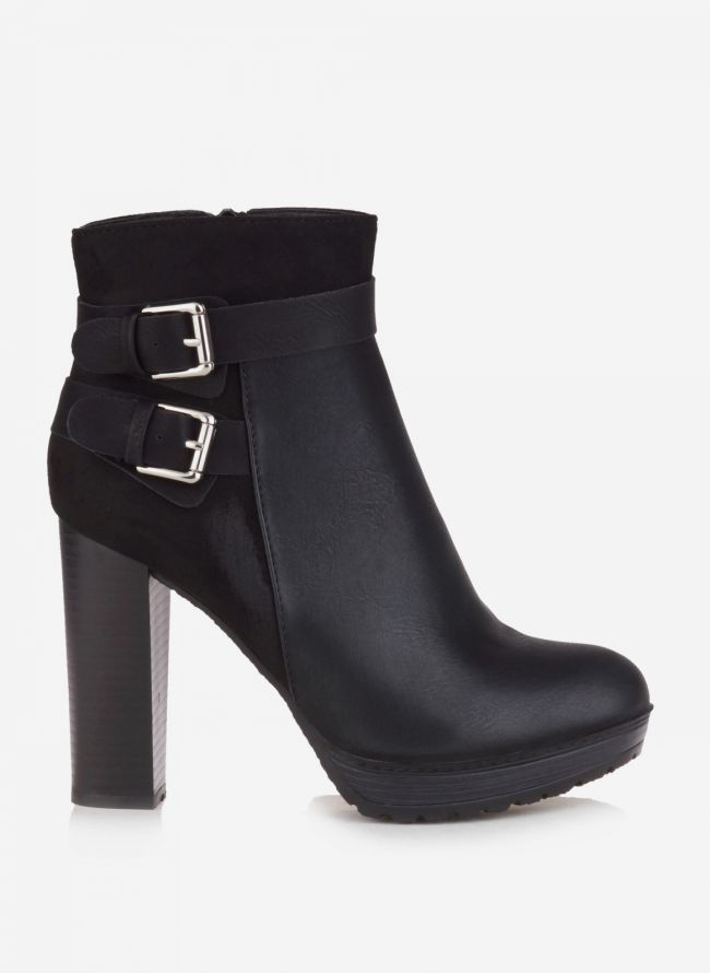 ANKLE BOOTS ΜΕ ΖΩΝΑΚΙ