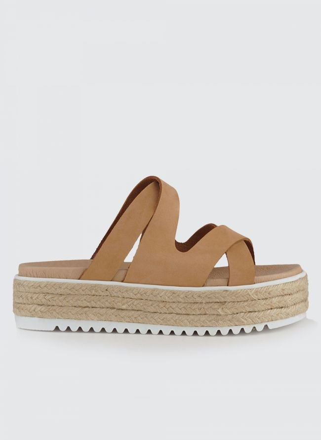 WALKME FLATFORMS 106-038 - Biscuit