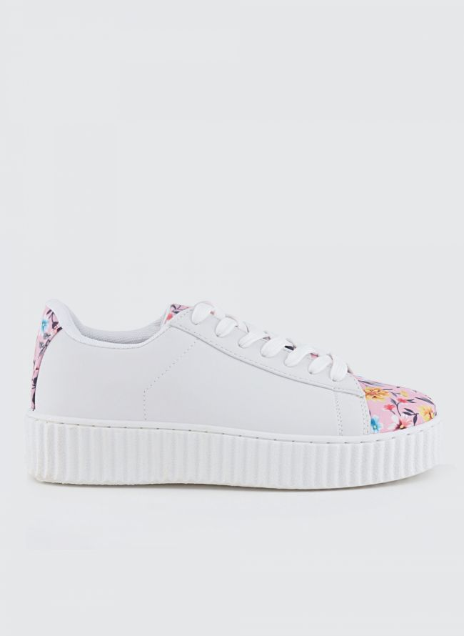 FLORAL SNEAKERS QQ/136
