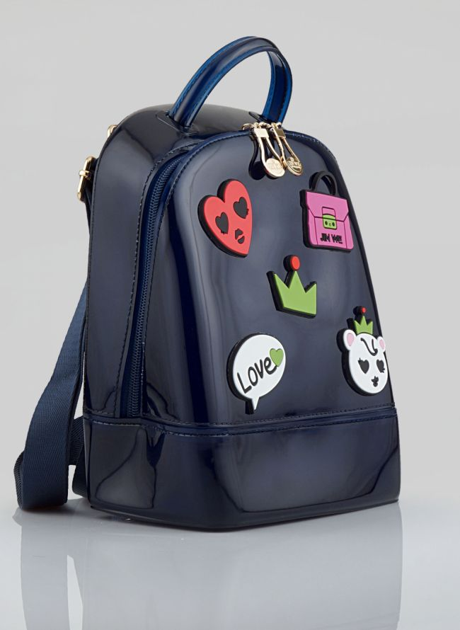 MINI BACKPACK ΜΕ PATCHES 16-007