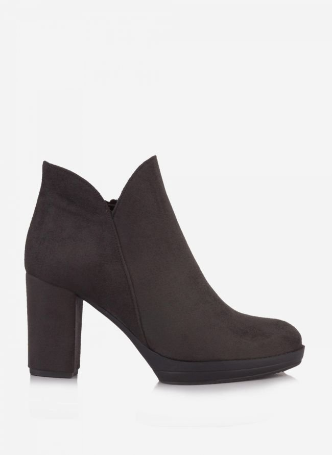 Estil suede ankle boots - Γκρί