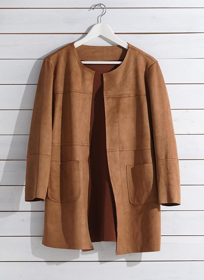 SUEDE OVERSIZED ΣΑΚΑΚΙ