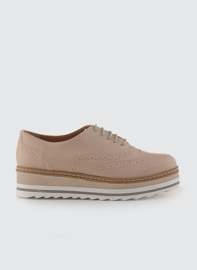 ESTIL FLATFORM OXFORDS SJ-37ML