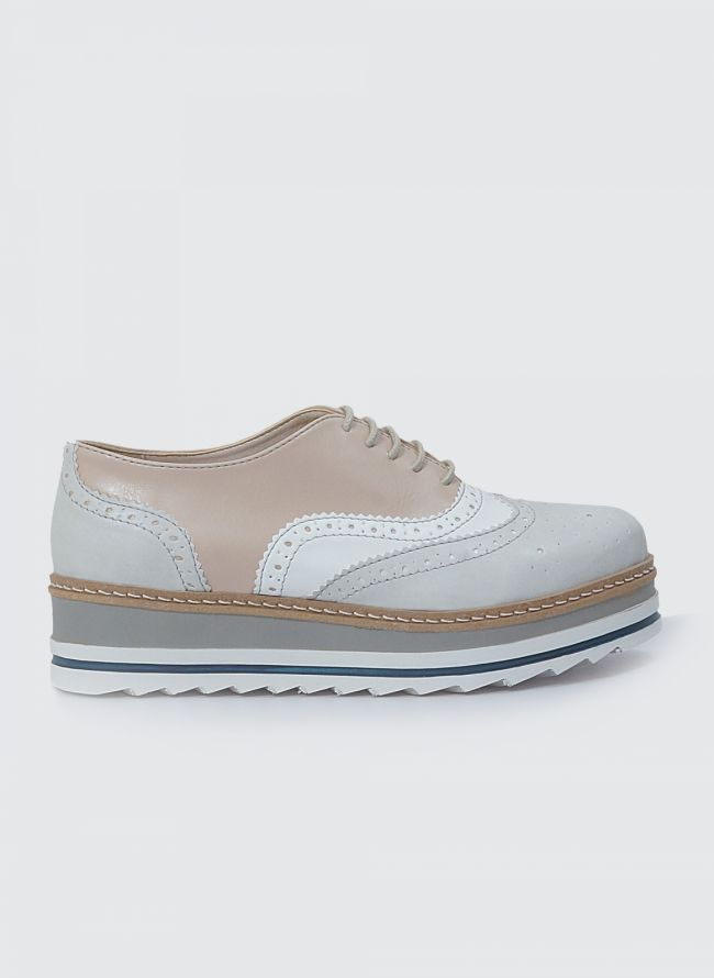 ESTIL FLATFORM OXFORDS SJ-37CF