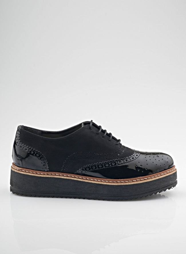 ESTIL FLATFORM OXFORDS SJ-302