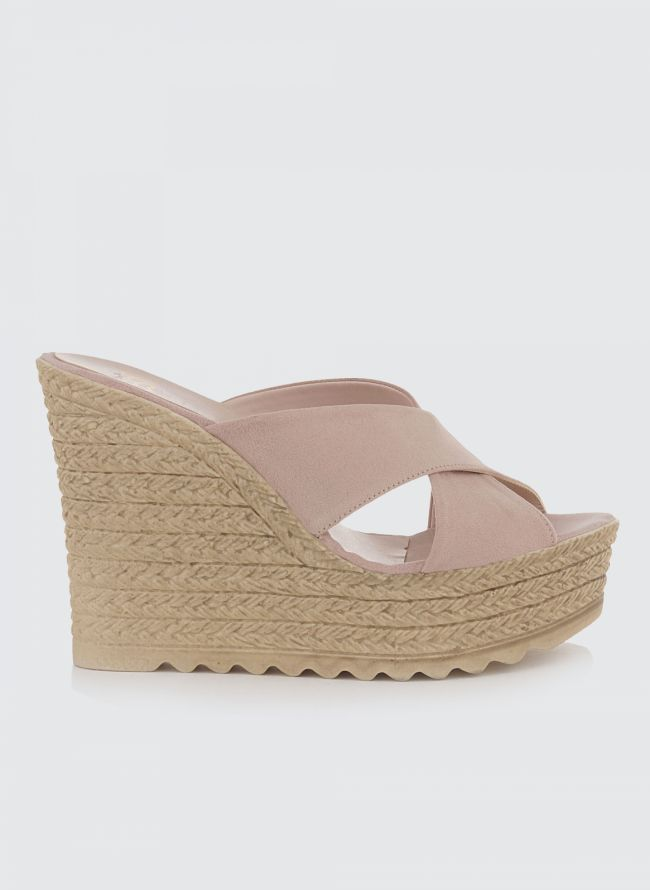 e54a72fadfb ESTIL SUEDE ΠΛΑΤΦΟΡΜΕΣ 3900 - Nude - TheFashionProject
