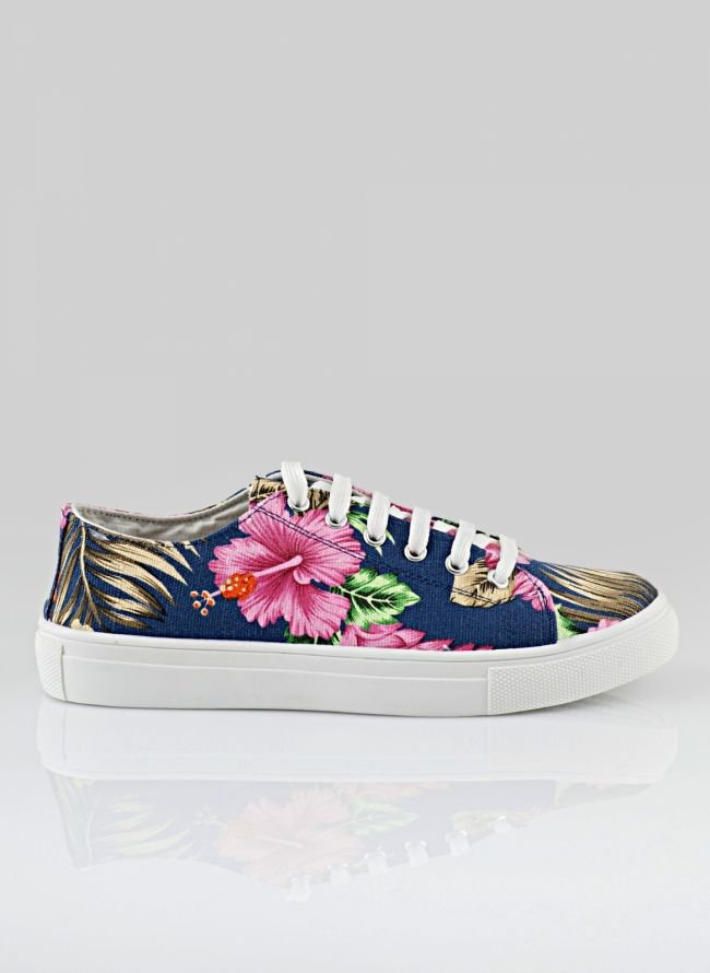 FLORAL SNEAKERS P-012