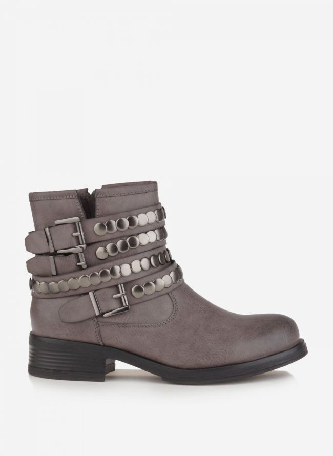 BIKERS ANKLE BOOTS