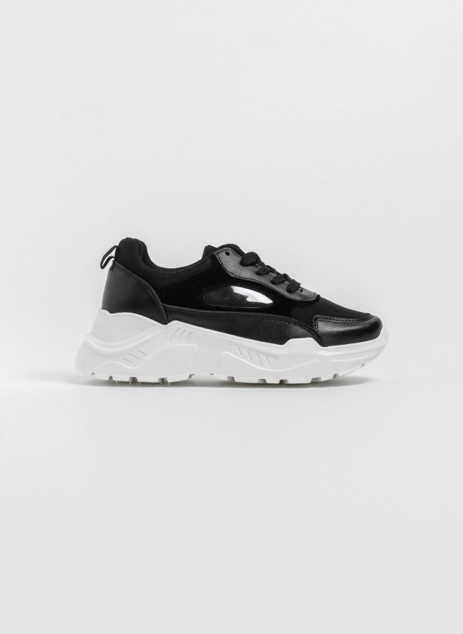 Αθλητικά-κάλτσα με διπλό λάστιχο - Λευκό - TheFashionProject 7671767d090