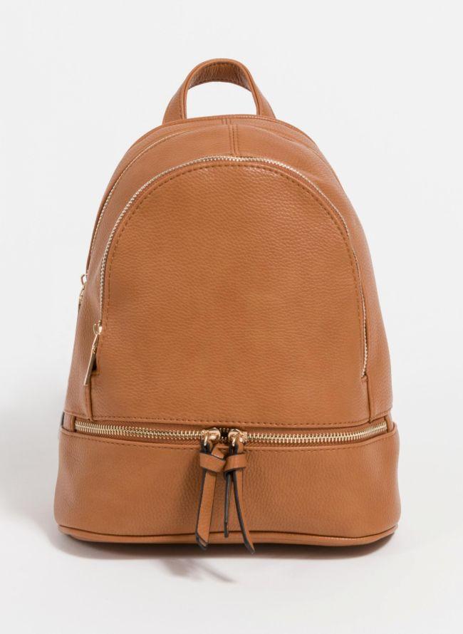 Backpack από μαλακού τύπου τεχνόδερμα - Ταμπά