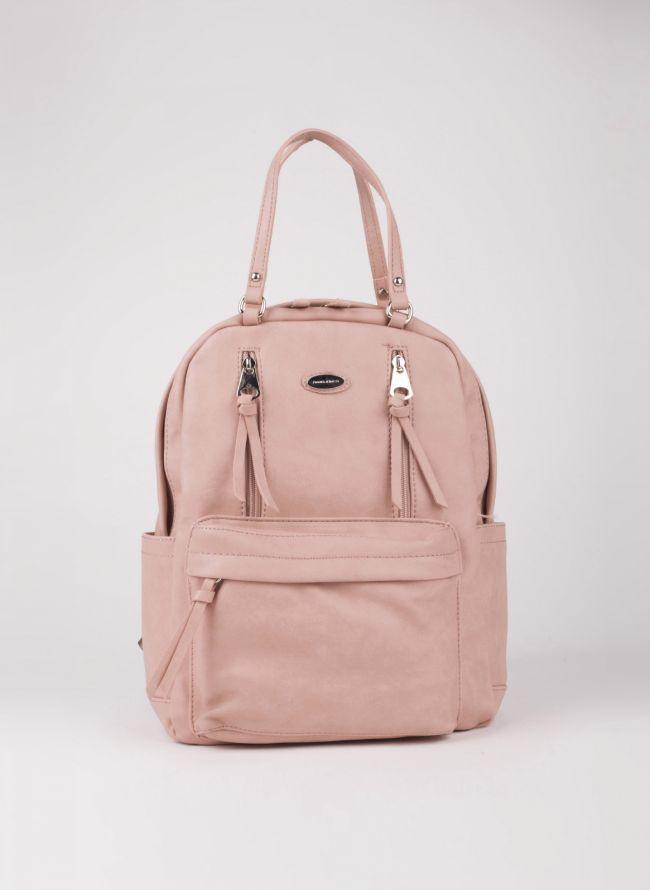 Backpack David Jones - Ροζ