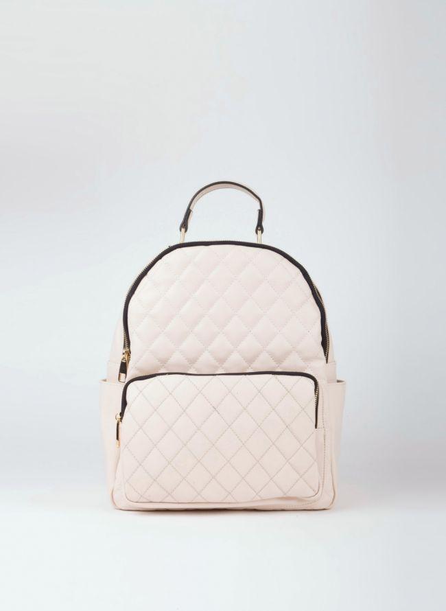 Backpack καπιτονέ - Μπεζ