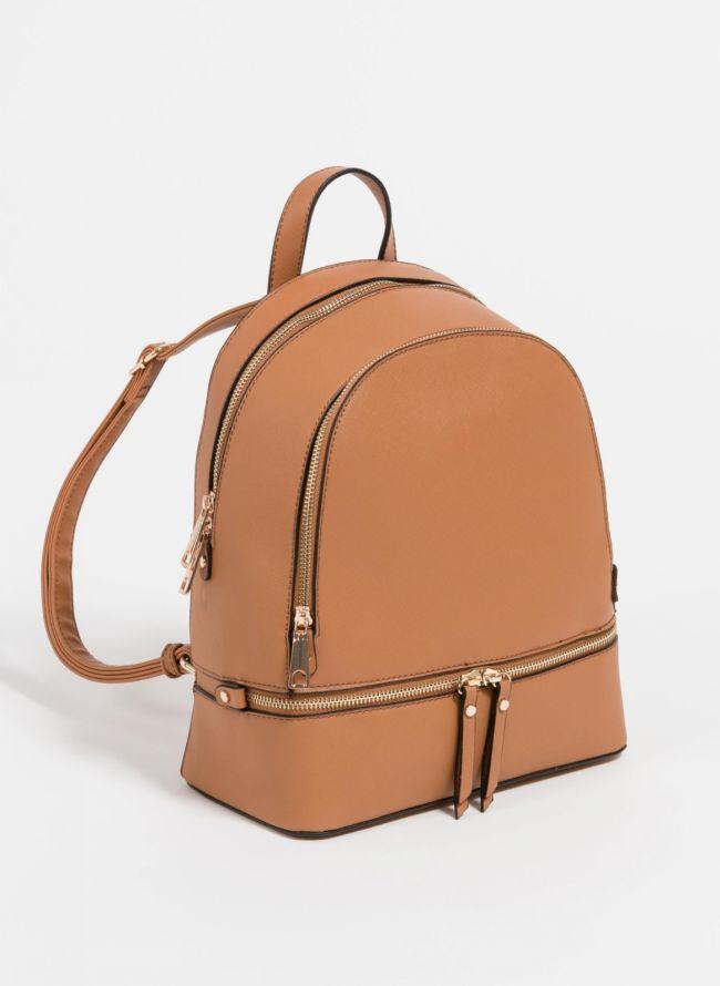 Backpack με αναγλυφο print - Ταμπά