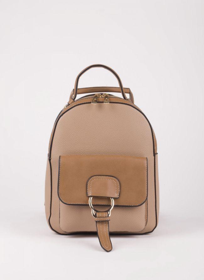 Backpack με εξωτερική θήκη - Πούρο