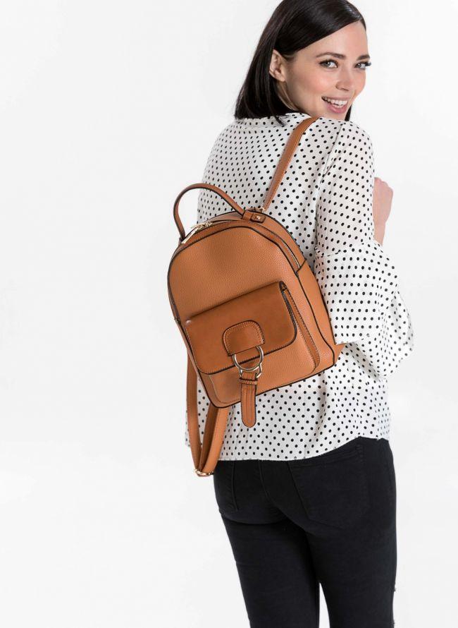 Backpack με εξωτερική θήκη - Ταμπά