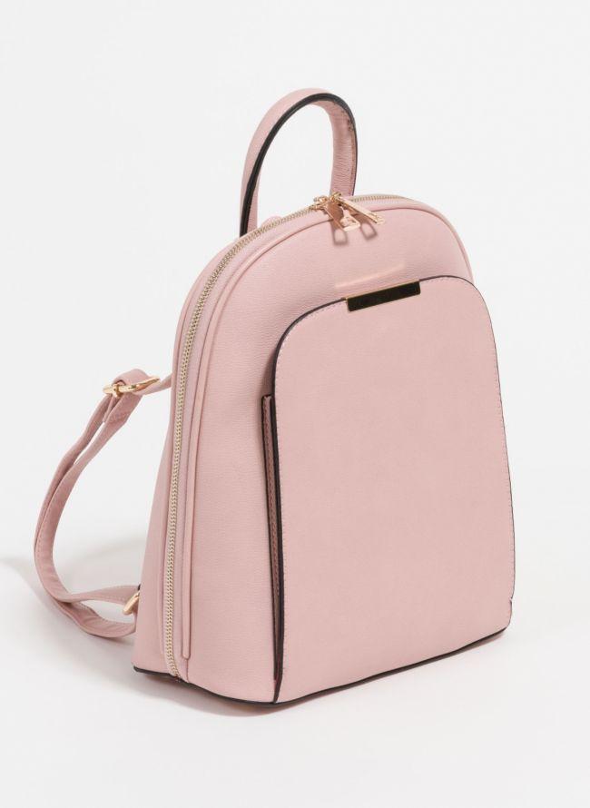 Σακίδιο πλάτης με εξωτερική θήκη - Ροζ