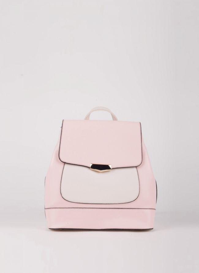 Backpack με καπάκι - Ροζ