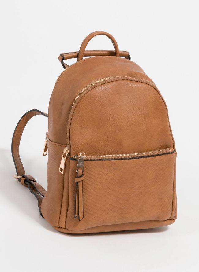 Backpack με snakeprint - Ταμπά