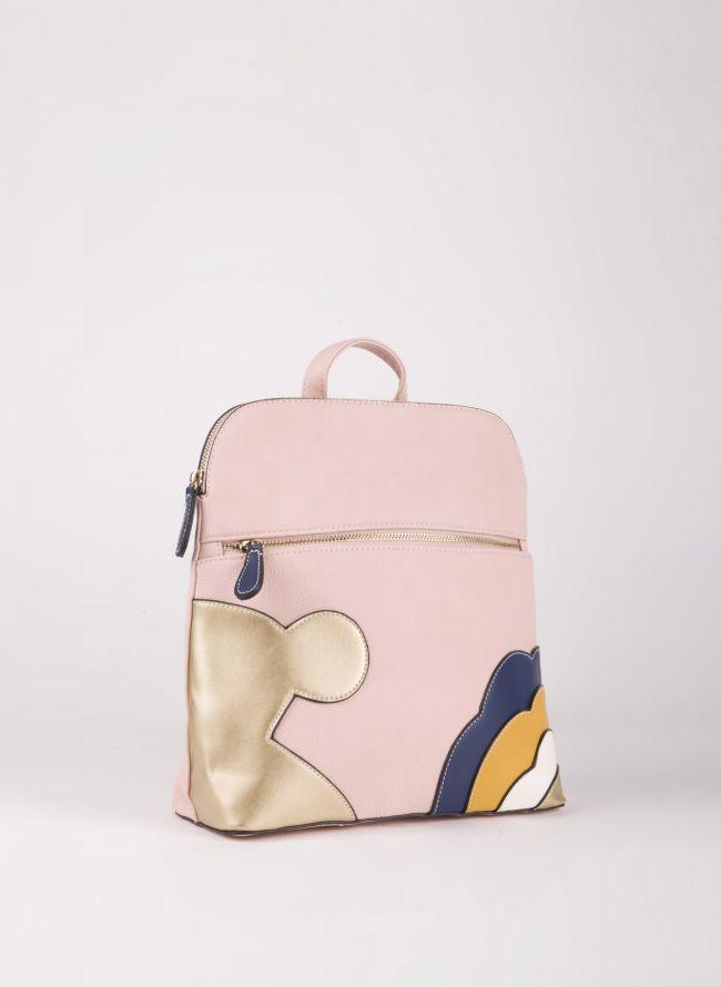 Backpack με σχέδιο - Ροζ