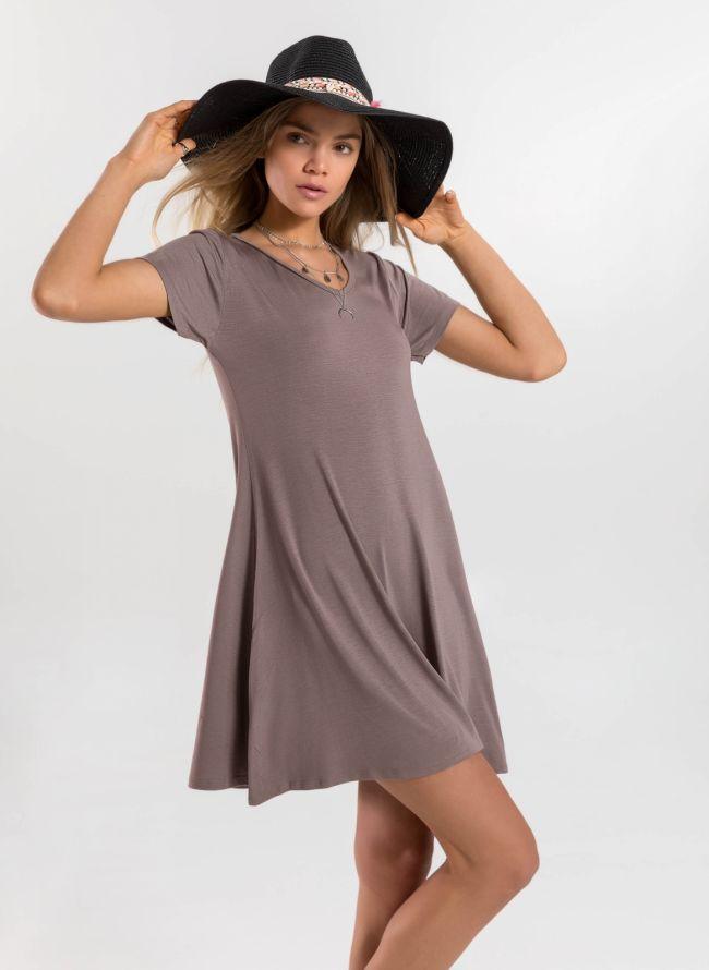 Basic φόρεμα  - Πούρο