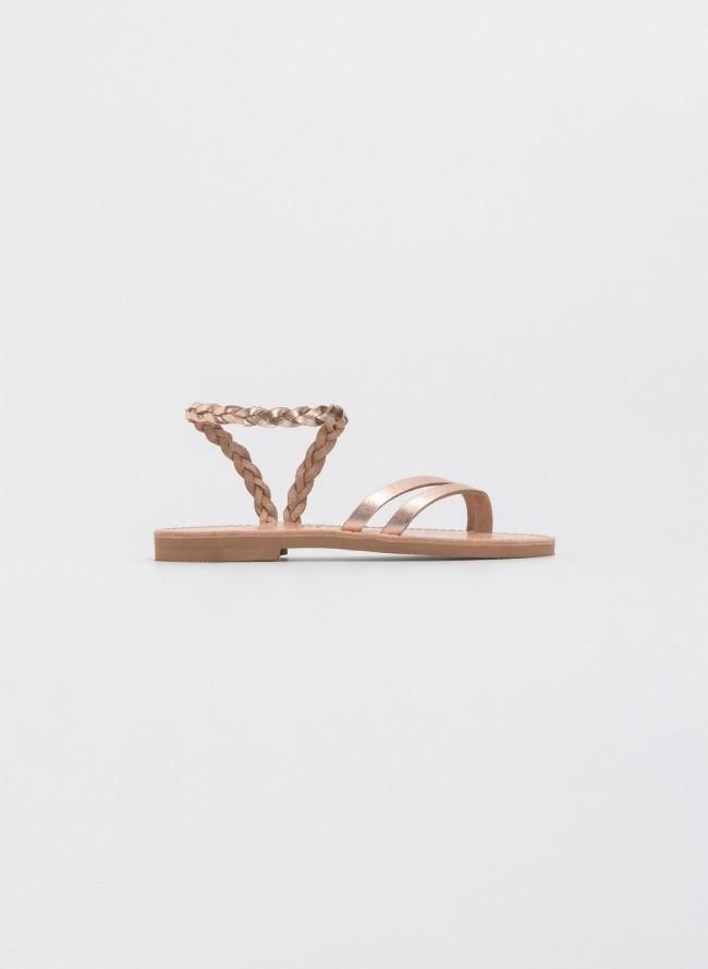 e8abca2339 Estil boho σανδάλια με πλεκτό σχέδιο - Ταμπά - TheFashionProject