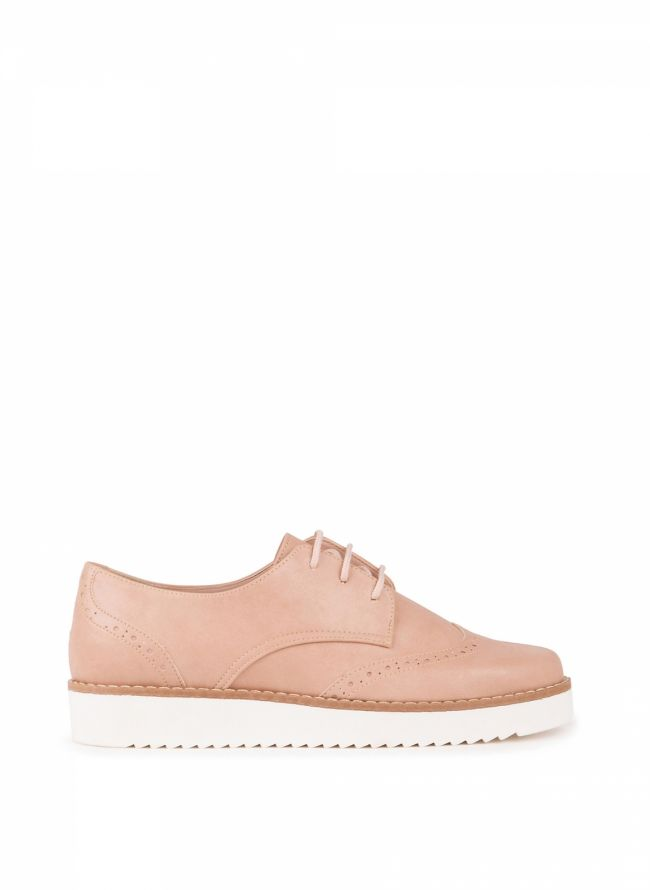 Estil oxfords - Nude