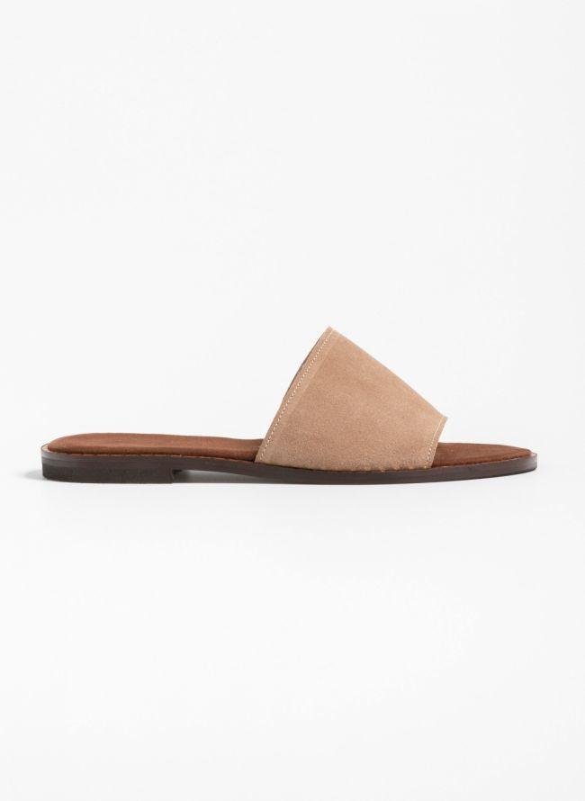 Flat καστόρινα slides  - Πούρο