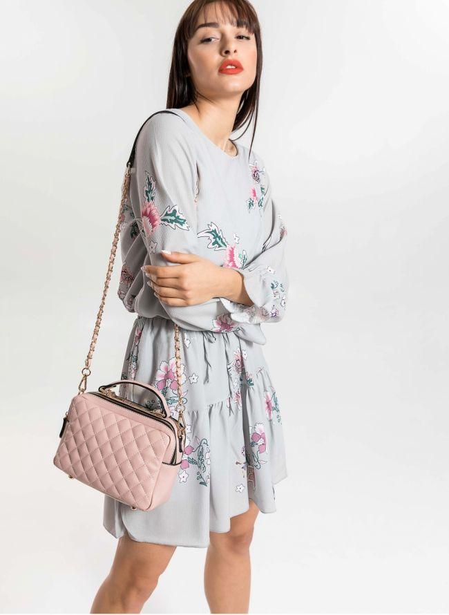 Φόρεμα με λουλούδια - Πάγου