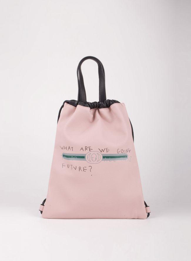 Gym sack με λογότυπο - Ροζ