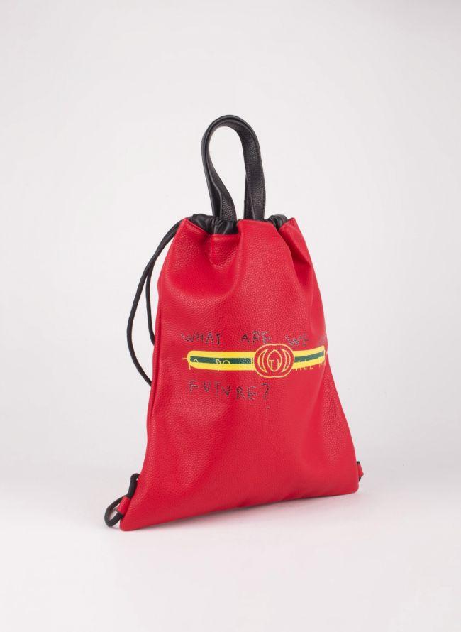 Gym sack με λογότυπο - Κόκκινο