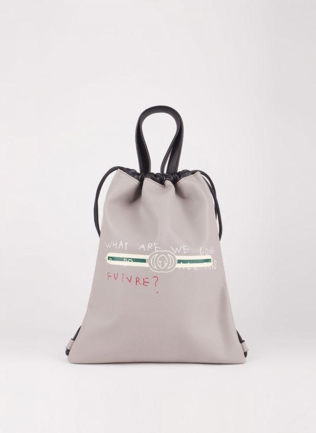Gym sack με λογότυπο - Γκρι