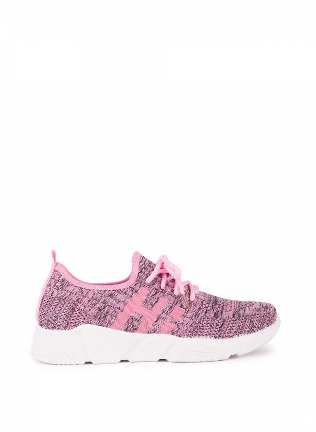 Knit slip-on sneakers - Ροζ